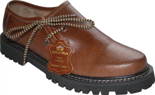 De À Ville German Chaussures Kastanienbraun Lacets Marron Pour Wear Homme IwxgPgnEfq