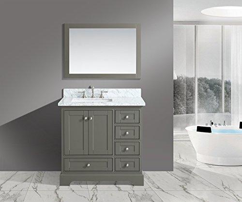 UrbanFurnishing net Jocelyn 36 Inch Bathroom Distressed