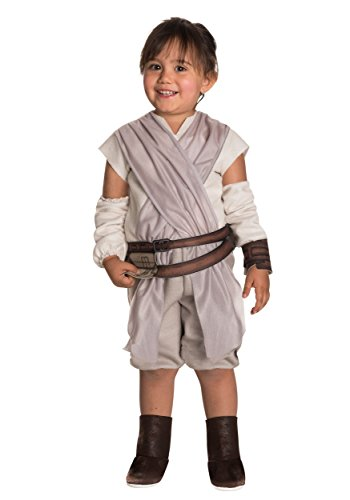 Rubie's Costume Girls Star Wars VII: The Force Awakens Rey Costume, Multicolor, (Rey Star Wars The Force Awakens Costume)