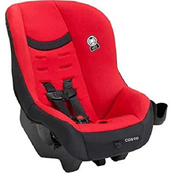 Cosco Scenera NEXT Convertible Car Seat With Cup Holder Candy Apple Red