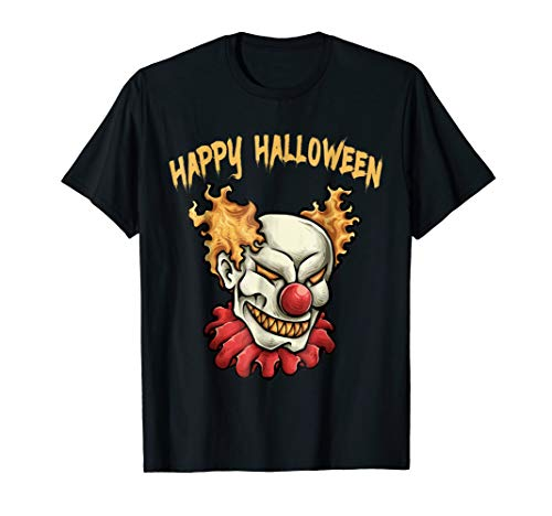 Happy Halloween Evil Clown T-Shirt