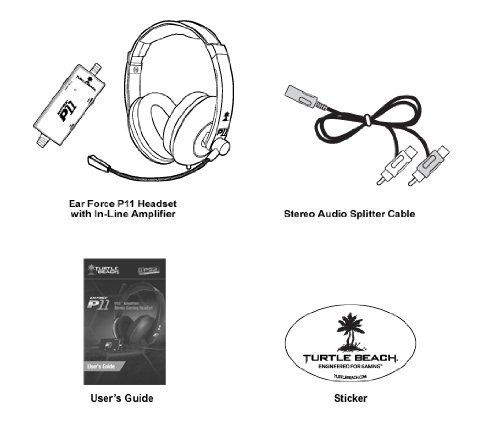 standard turtle beach p11 gaming headset ps3 amazon in electronics turtle beach ear force p11 wiring diagram Turtle Beach P11 Wiring Diagram #6