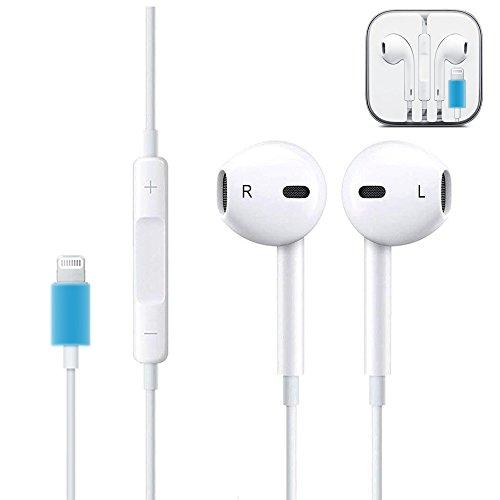Lightning Earphones, Headphones with Microphone Lightning Earphone and Noise Isolating headset Made For iPhone8/8 plus iPhone7/7 plus and iPhone X Earbuds Earphones (Bluetooth Connectivity) by CulaLuva (Image #5)