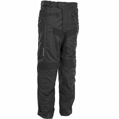 FirstGear HT Air Overpants Men's Textile Vented Street Motorcycle Pants - Black / Short / Size 34