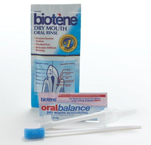 Biotene Toothbrush - Medline MDS096572P Pediatric Suction Toothbrush Kit With Biotene, Small (Case of 100)