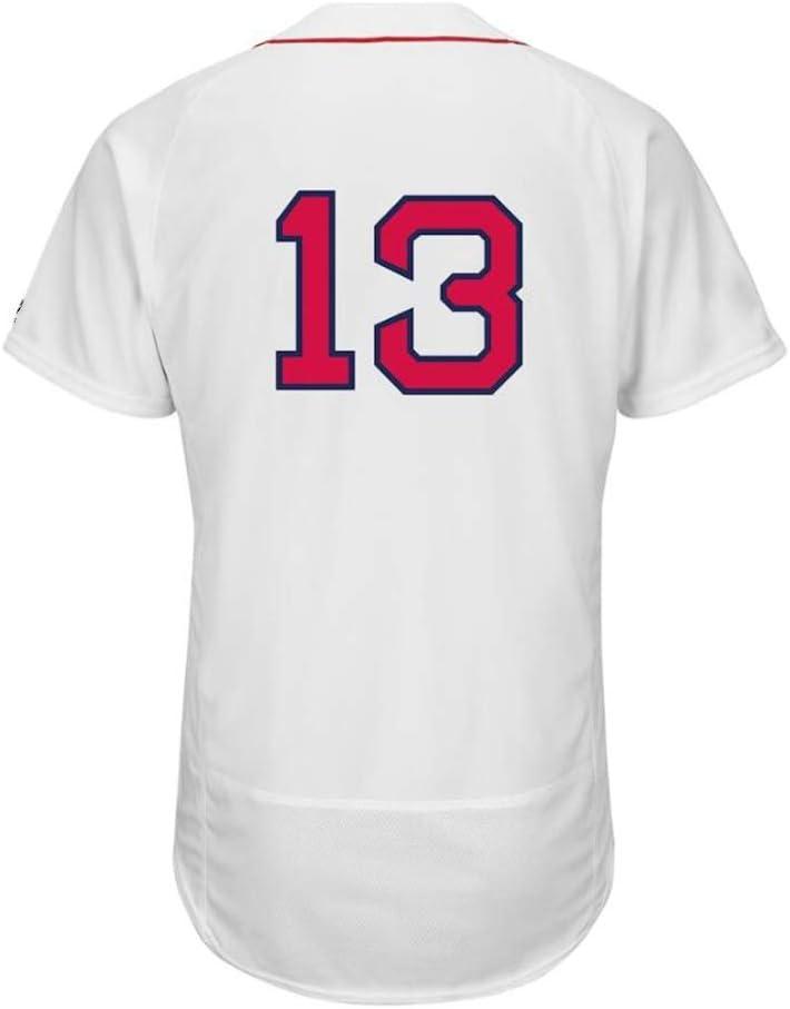 W/&F Base-Ball personnalis/é Jersey # 13 Hanley Ramirez Boston Red Sox Baseball Jersey for Les Hommes et Les Femmes et Les Jeunes
