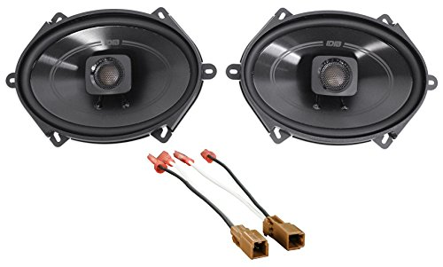 Replacement Nissan Altima 1997 (Polk Audio Front 5 x 7 Speaker Replacement Kit for 1993-1997 Nissan Altima)