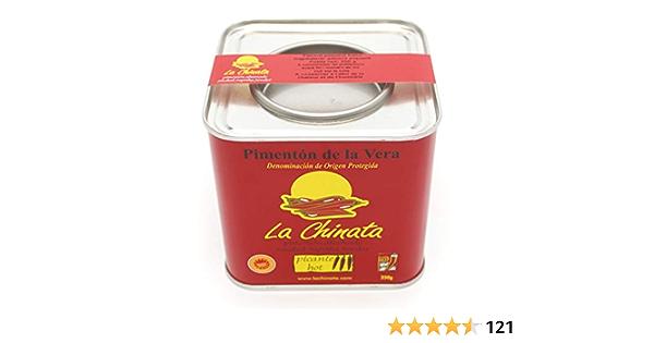 La Chinata Pimentón Ahumado Picante - 350 g: Amazon.es ...