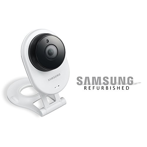 Price comparison product image Samsung SNH-E6413BMR SmartCam HD WiFi IP Camera with 16GB microSD Card (Certified-Refurbished)