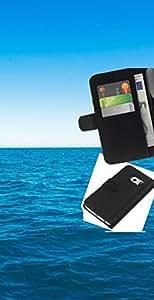 JackGot ( Azul océano y el cielo ) Samsung Galaxy S6 EDGE (NOT S6) la tarjeta de Crédito Slots PU Funda de cuero Monedero caso cubierta de piel
