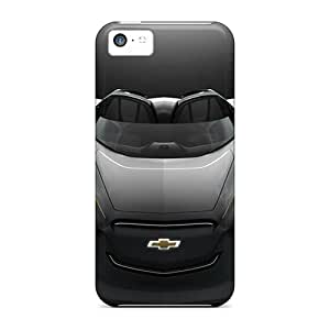 Durable Defender Case For Iphone 5c Tpu Cover(2011 Chevrolet Mi Ray Roadster Concept)
