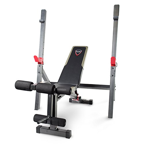 CAP Barbell Olympic Bench with Squat Rack