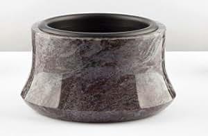 Bol de granito Grab, 33cm diámetro