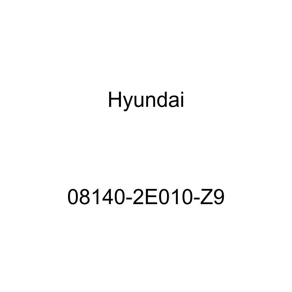 Genuine Hyundai 08140-2E010-Z9 Carpet Floor Mat