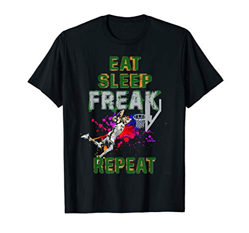 Milwaukee Greek Freak Eat Sleep FREAK Repeat  T-Shirt