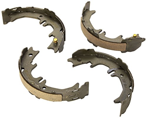 ACDelco 17851B Professional Bonded Rear Parking Brake Shoe Set