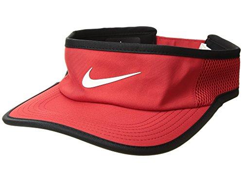 Nike Aerobill Feather Light Adjustable Visor - University Red