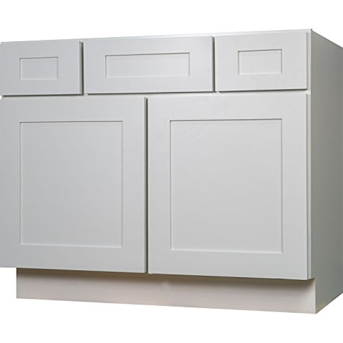 Ready To Assemble Kitchen Cabinets Made In Usa: Everyday Cabinets Bathroom Vanity Single Sink Cabinet In