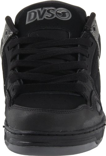 DVS Comanche Shoes - Black High Abrasion Leather - UK 11