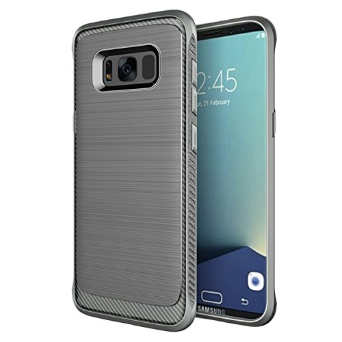 Samsung Galaxy S8 Plus Case, Rugged Armor Ultra Slim Brushed Design Non Slip Grip Anti Fingerprint Shockproof Military Grade Drop Tested Protective Bumper Case for Samsung Galaxy S8 Plus - Military Mall Hours