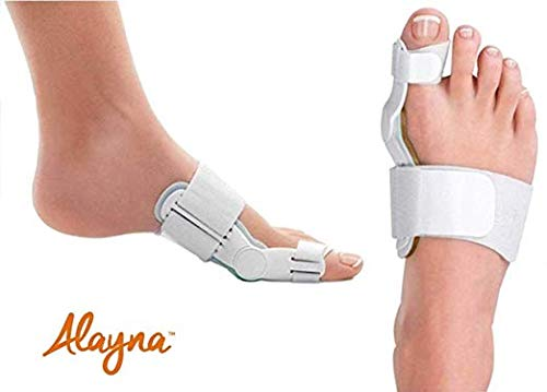 (Bunion Corrector and Bunion Relief Orthopedic Bunion Splint Pads for Men and Women Hammer Toe Straightener and Bunion Protector Cushions- Relieve Hallux Valgus Foot Pain and Soothe Sore Bunions)