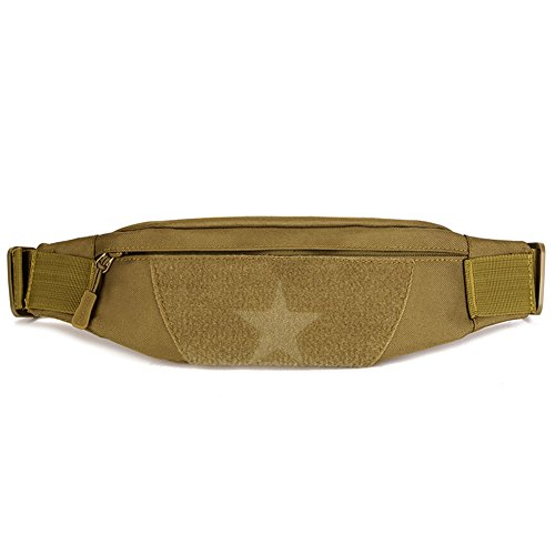 Huntvp Slim Fanny Pack Running Military Tactical Waist Pack Utility Nylon Fishing Hunting Bags Money Belt Wallet Sport Travel Cycling Mobile Phone Pouch