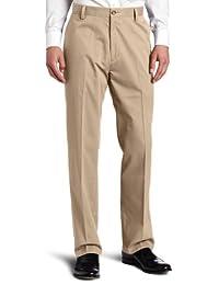 Dockers Hombres fácil de color caqui D3Classic-Fit flat-front Pant