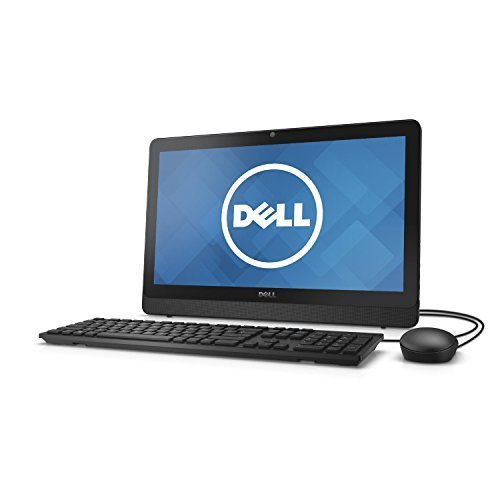 Dell Inspiron 19.5-Inch HD+ Desktop Computer with Keyboard and Mouse (Intel Quad-Core 4GB RAM 500GB HDD, DVDRW Wireless Bluetooth, Windows 10)