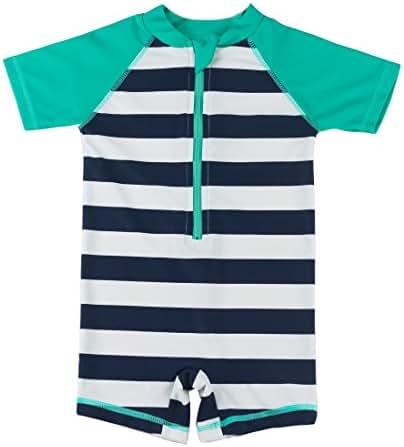 Baby Boy Girl Swimsuit One Piece Surfing Suits Beach Swimwear Rash Guard