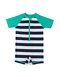 Wishere Kids Boy Girl Swimsuit One Piece Surfing Suits Beach Swimwear
