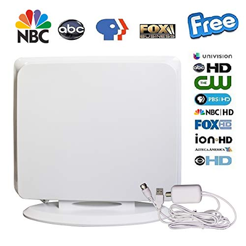 Supplies [Latest 2019] Amplified HD Digital TV Antenna Long 80-100 Miles Range - Support 4K 1080P All Older TV
