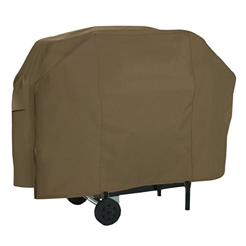 Classic Accessories 55-601-046601-EC Gas Grill Cover, Maverick Brown, Up To 65-Inch, - 601 65