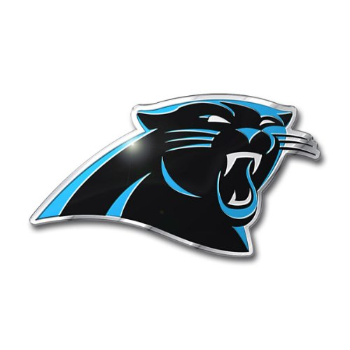 (Team ProMark NFL Carolina Panthers Die Cut Color Automobile Emblem)
