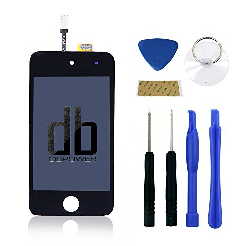 DBPOWER For iPod Touch 4th Gen Digitizer Touch Screen + LCD Display Pre-assembly