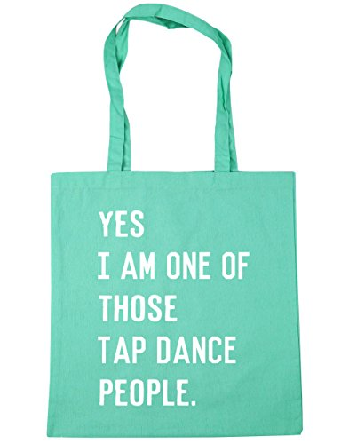 Shopping Gym Yes tap one Beach 10 those HippoWarehouse x38cm litres people dance am Bag of I Mint 42cm Tote FqWwvP