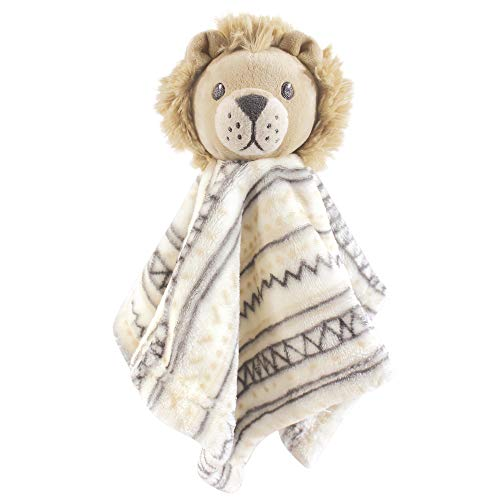 Hudson Baby Unisex Baby Security Blanket, Lion, One Size -