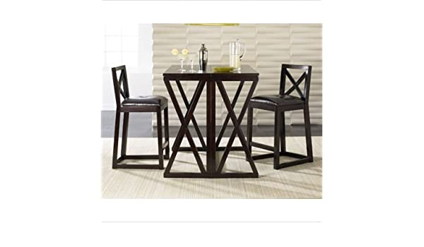 Nice Amazon.com: Sitcom Furniture TUR404 / TUR20 Turin Flip Top Bar Table With  Bar Chairs: Kitchen U0026 Dining