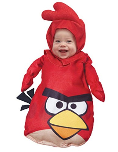 Angry Birds Red Bird Infant Costumes - Paper Magic Red Angry Birds Infant