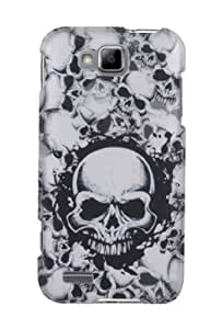 Graphic Case for Samsung ATIV S - White Skulls (Package include a HandHelditems Sketch Stylus Pen)