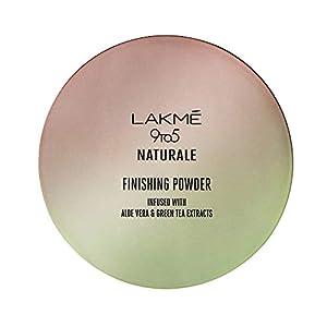 Lakmé 9 to 5 Naturale Finishing Powder, Universal Shade, 8g