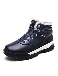 ARKE Men's Warm Winter Shoe Snow Boot Ankle Sneakers High Top Fashion Sneaker