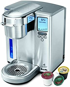 Breville bkc700 X L Gourmet single-serve cafetera con iced ...
