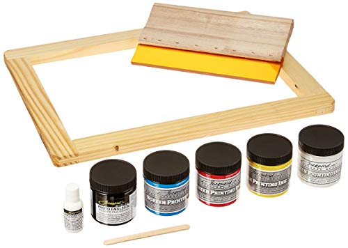 - Jacquard Products Opaque Screen Printing Kit, Multicolor