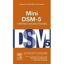 MINI DSM 5 CRITÈRES DIAGNOSTIQUES 3E ÉD.