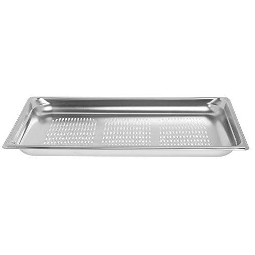 Vollrath Super Pan 3 1/1 GN Food Pan, perforated, 1-1/2