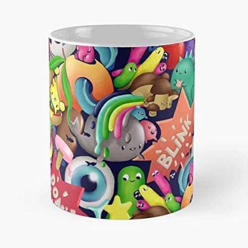 Delicious coffee cup cute kawaii cartoon