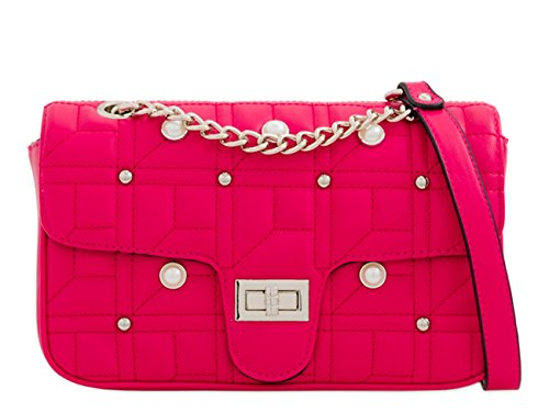 LeahWard Women's Shoulder Bag Cute Cross Body Bags Handbag 257 Fuchsia 2188