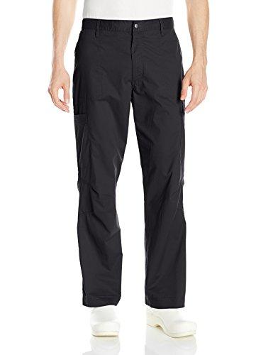 - Landau Men's Pre Washed Cargo Pant, Black, X-Large