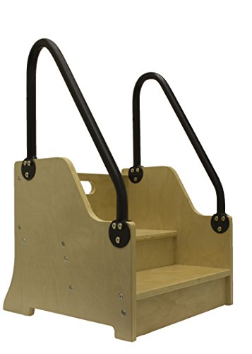 Little Partners Reach Up! Step Stool, Natural - Partners Natural