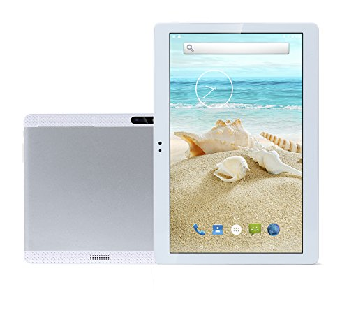 Newest 10.1 Inch Tablet PC Android 7.1 Octa Core 4G RAM 64G ROM WIFI GPS 7 8 9 Dual sim card Phone Call Tablets Pc HD high definition silvery Bestenme -  bst-k900